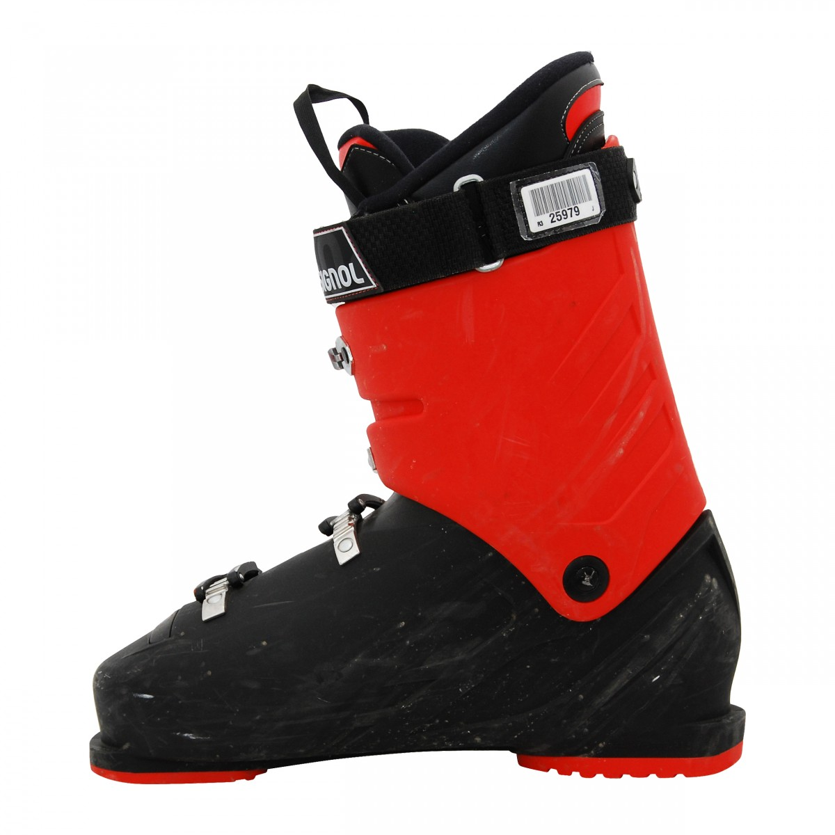 Chaussure-de-ski-Occasion-Rossignol-AllSpeed-R-noir-rouge miniature 4
