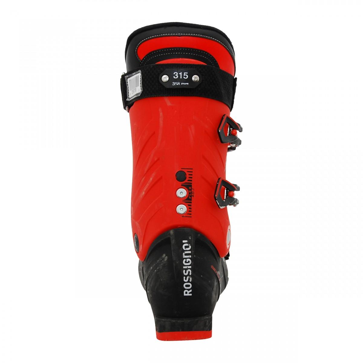 Chaussure-de-ski-Occasion-Rossignol-AllSpeed-R-noir-rouge miniature 3