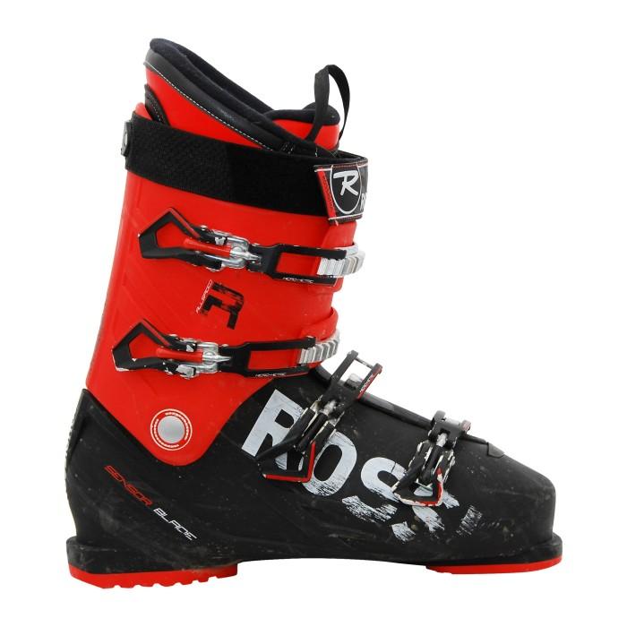 Bota de esquí Rossignol AllSpeed R roja negra usada