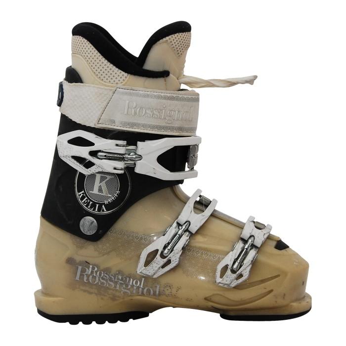 Ocasion Rossignol Kelia bota de esquí gris / beige