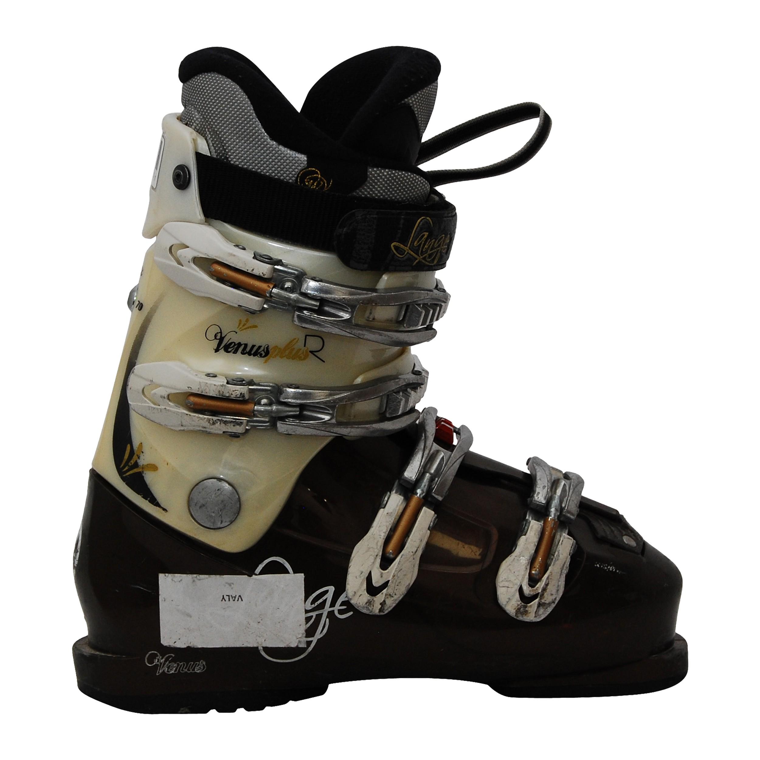 Chaussure de Ski Occasion femme Lange Venus Plus R blancmarron