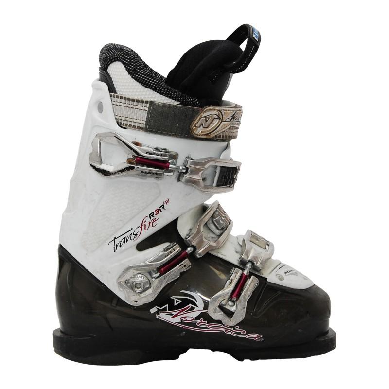 Chaussure de Ski Occasion Nordica transfire R3Rw blanc/noir qualité A