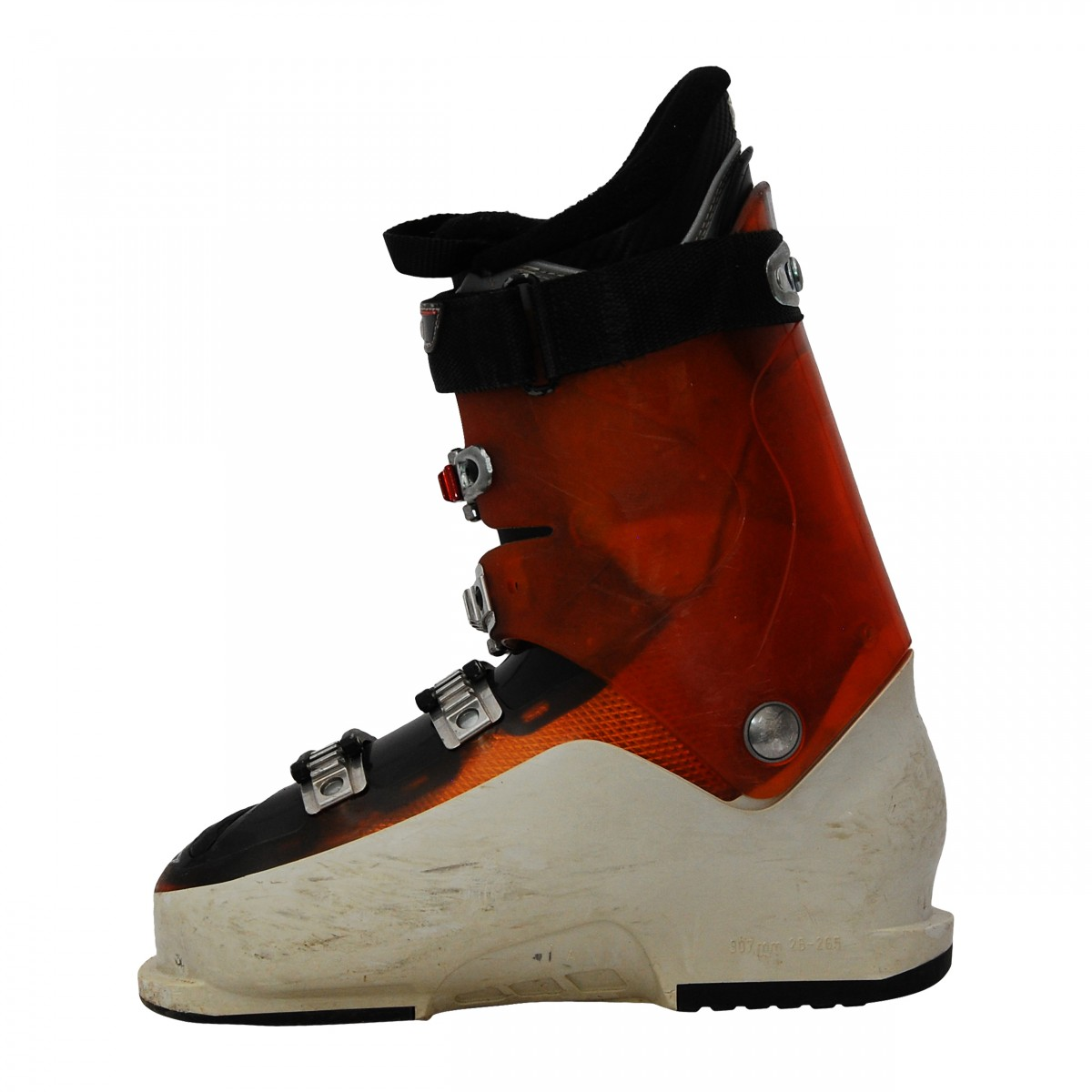 Chaussure de ski occasion Salomon Impact 880 blancorange