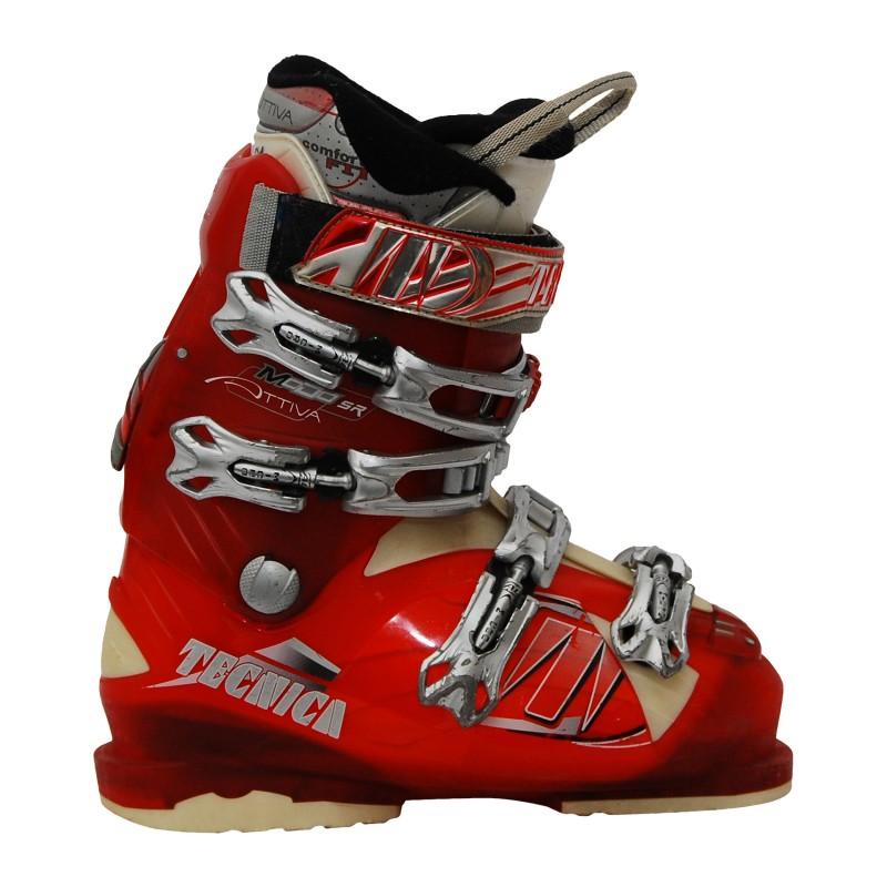 Chaussures de ski occasion Tecnica modo SR rouge