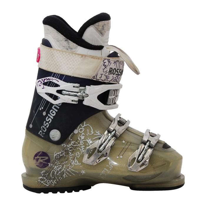 Ocasión Bota de esquí Rossignol Kelia púrpura / gris