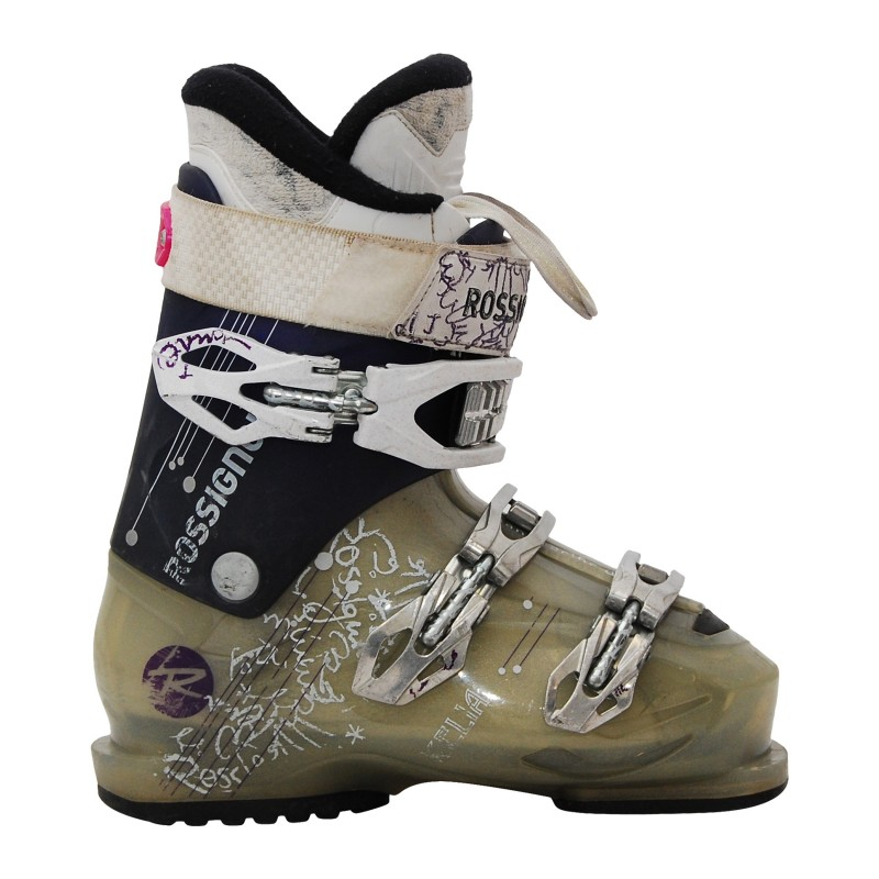 Chaussure de ski Occasion Rossignol Kelia violet/gris