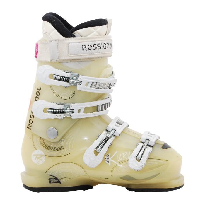 Rossignol beige Kiara Anlass Ski Schuh