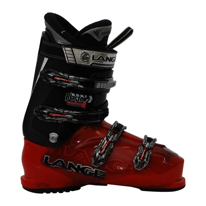 Ski gebrauchter Schuh Lange Blaster R rot/schwarz