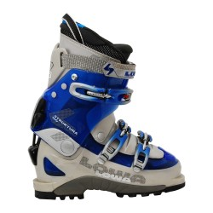 Lowa Struktura lady blaugrauer Skiwanderschuh