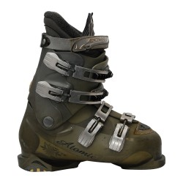 Atomic 25 scarponi da sci usati grigi