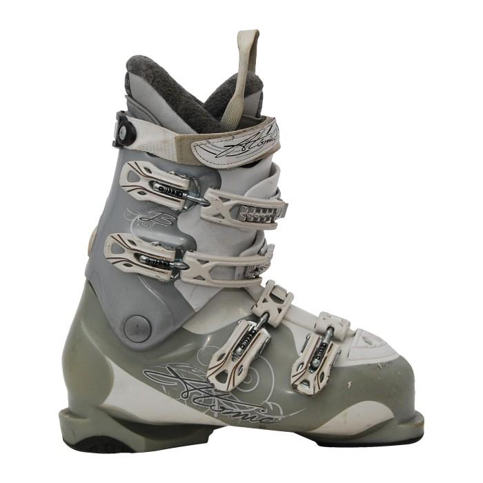 Botas de esquí usadas atómicos beige