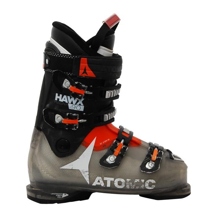 Botas de esquí usadas hawx magna R 90 usadas negras/translúcidas