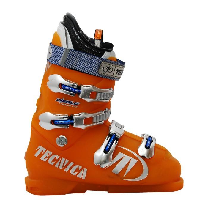 Gebrauchte Skischuhe Tecnica Diablo orange