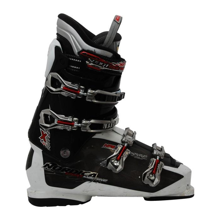 Nordica Sportmachine fl80x schwarz gebrauchter Skischuh
