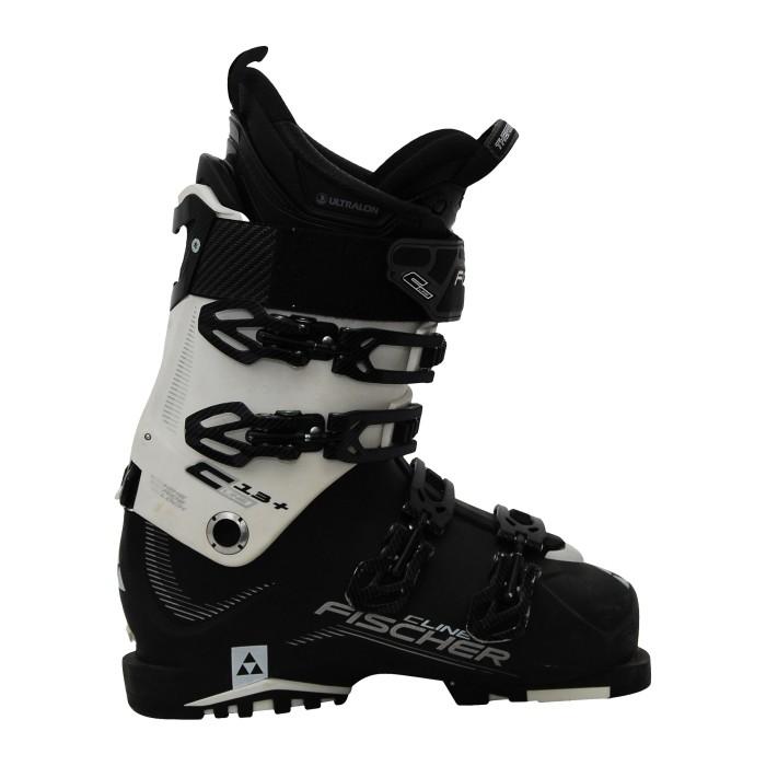Chaussure de ski occasion Fischer CLine +13 noir blanc