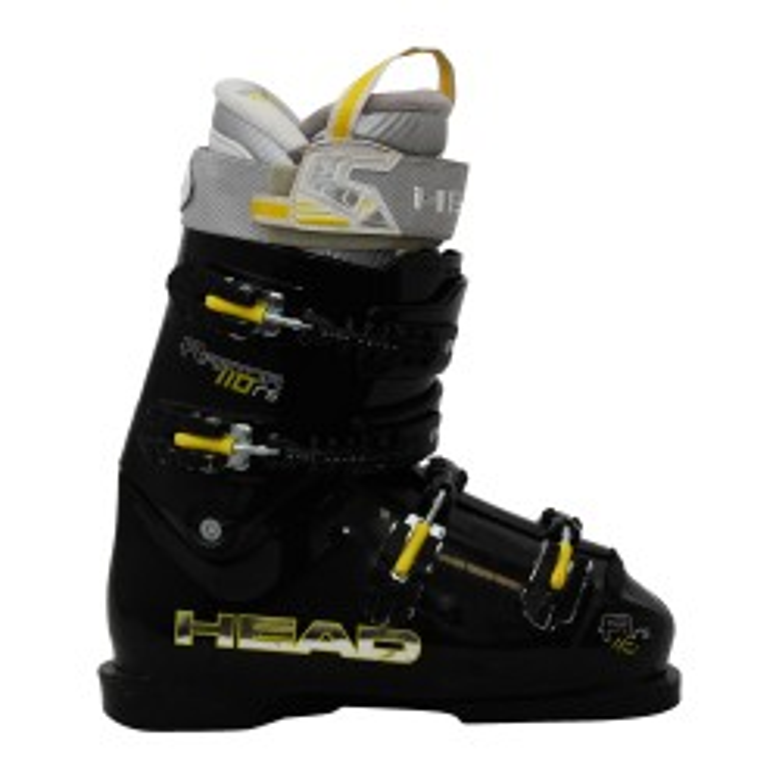 Chaussure de ski occasion Head Raptor 110rs noir jaune