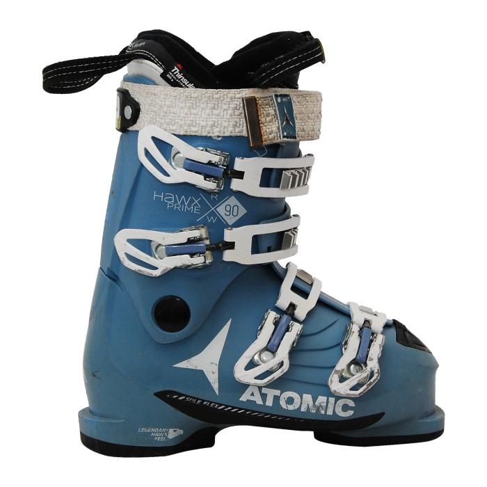 Chaussures de ski occasion Atomic hawx Prime R90w bleu