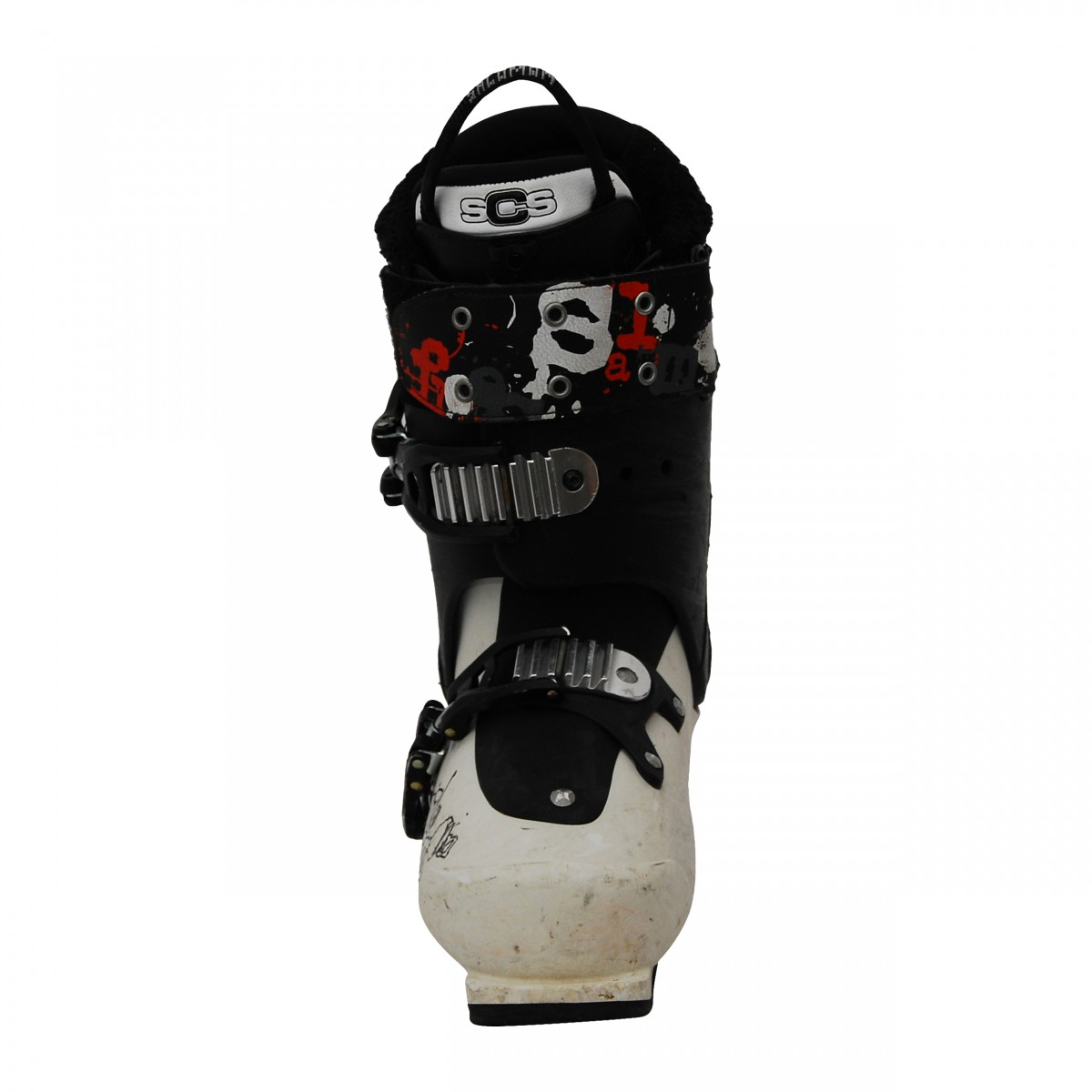 Salomon SPK blackwhite chaussures de ski d'occasion