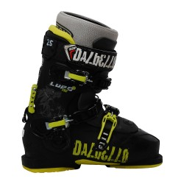 Chaussures de ski occasion Dalbello Lupo 110 noir jaune