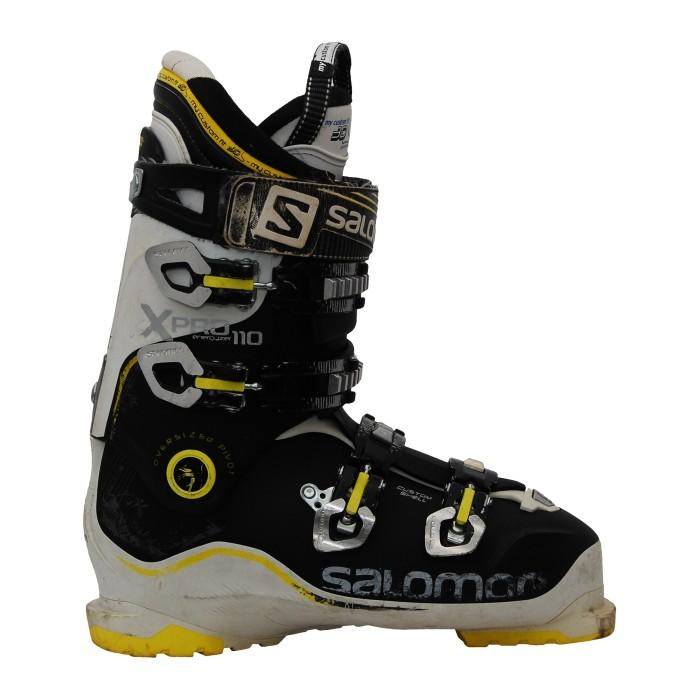 Chaussure ski occasion Salomon Xpro 110 noir blanc