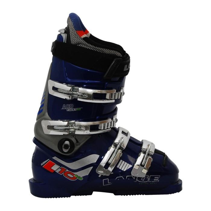 Skischuh Gelegenheit Lange L10 ACD Blau