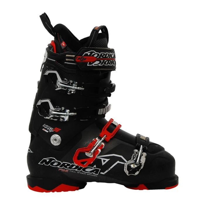 Nordica NXT X80R ski boot black / red