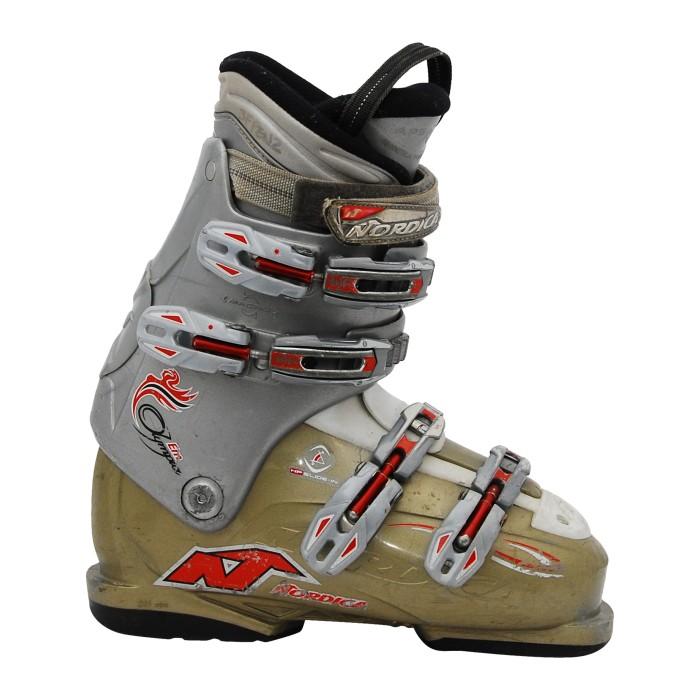 Nordica Olympia EM botas de esquí gris / caqui