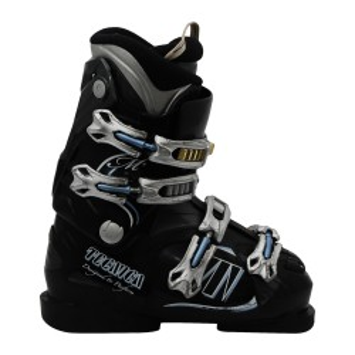 Used Tecnica M + black ski boots