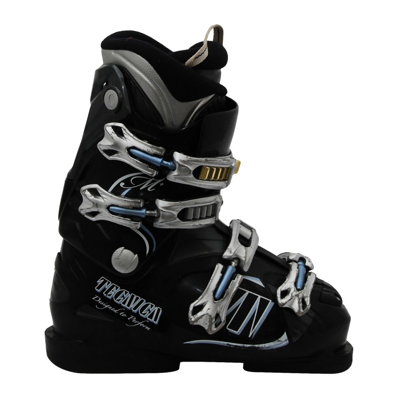 Chaussures de ski occasion femme Tecnica M+ noir