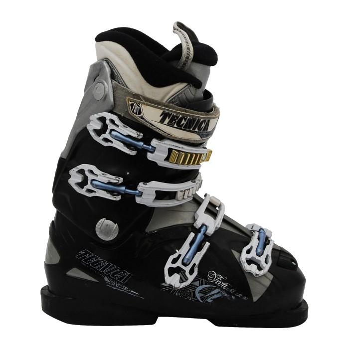 Tecnica Viva M + rx schwarze Skischuhe