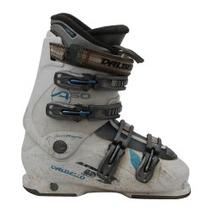 Chaussure de ski occasion Dalbello aspire 50 blanc-bleu