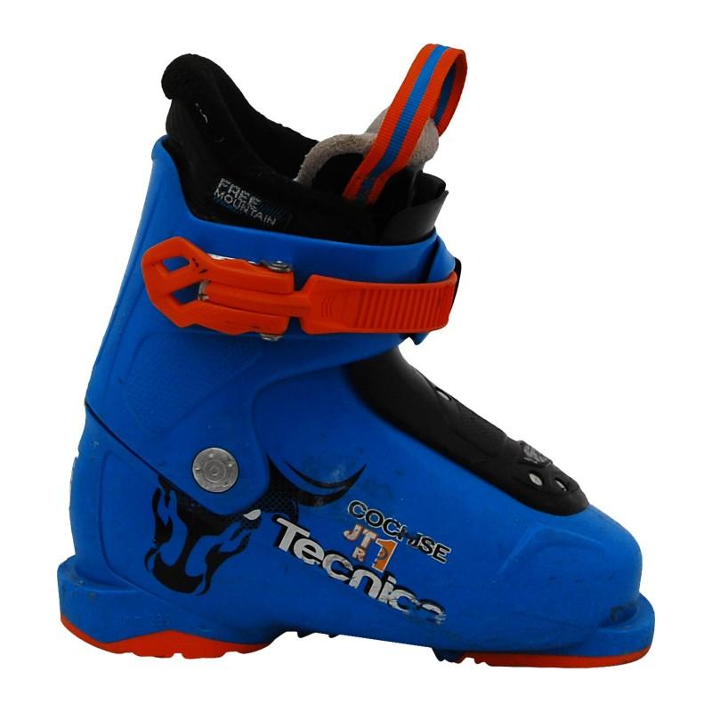 Chaussure de ski occasion Junior Tecnica Cochise JTR bleu qualité A