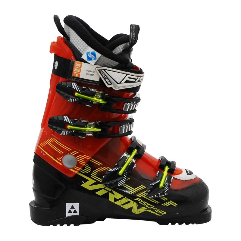 Chaussure de Ski occasion Fischer Viron XTR V9 noir/orange