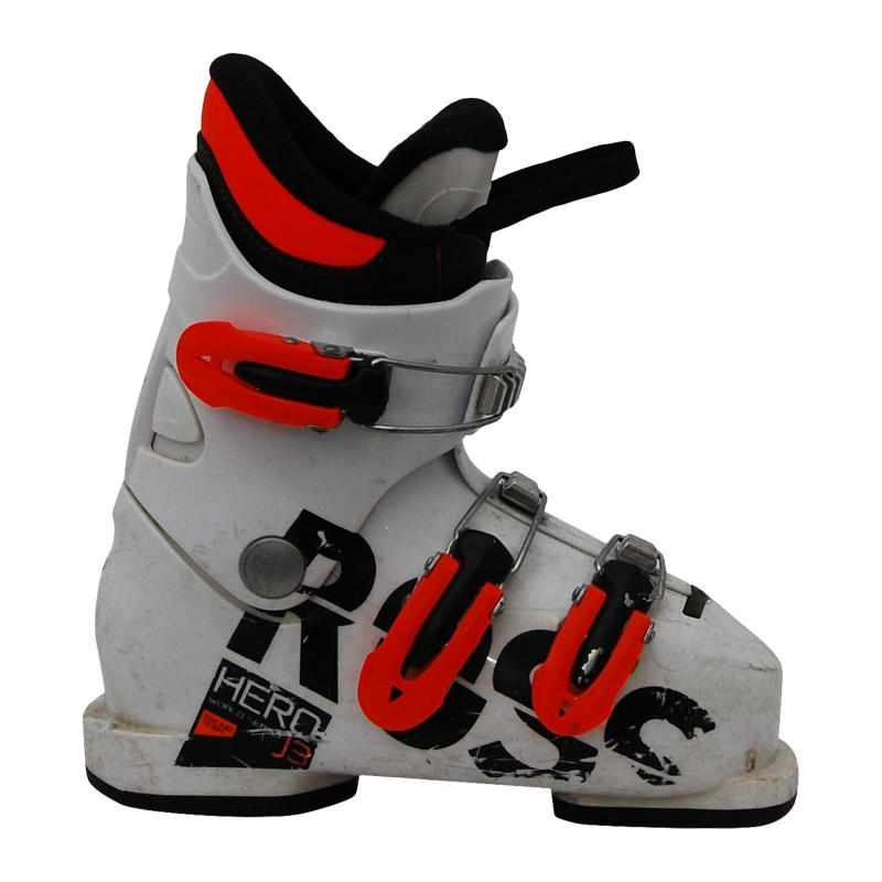 Chaussure de ski occasion junior Rossignol Hero J world racing qualité A