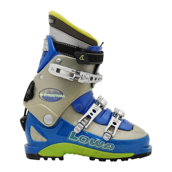 Lowa Struktura blue ski touring shoe