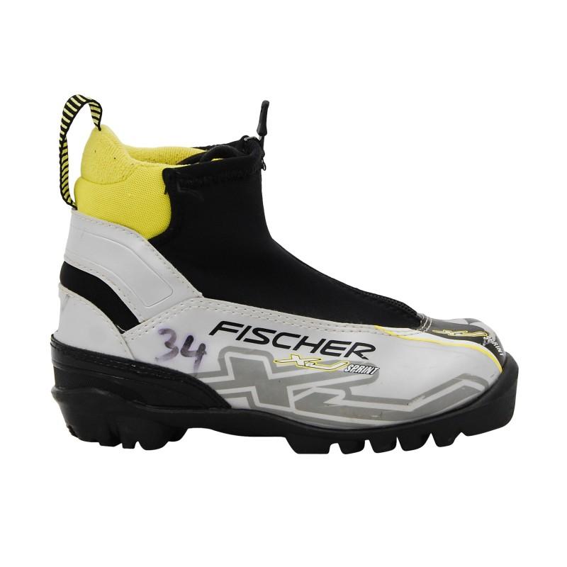 Chaussure de ski de fond occasion Fischer XJ sprint NNN