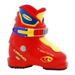 Chaussure de ski Junior Occasion Head Carve X1 X2 X3 rouge/jaune