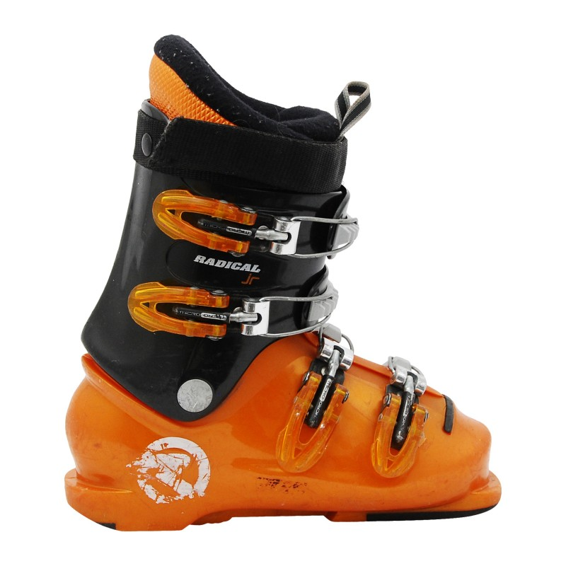 Chaussure junior occasion Rossignol comp J3/J4 radical orange et noir