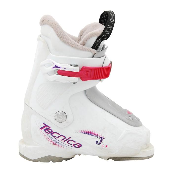 Chaussure de ski occasion Junior Tecnica JT 1/2/3 blanc