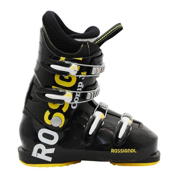 Junior Rossignol Comp schwarz Skischuh