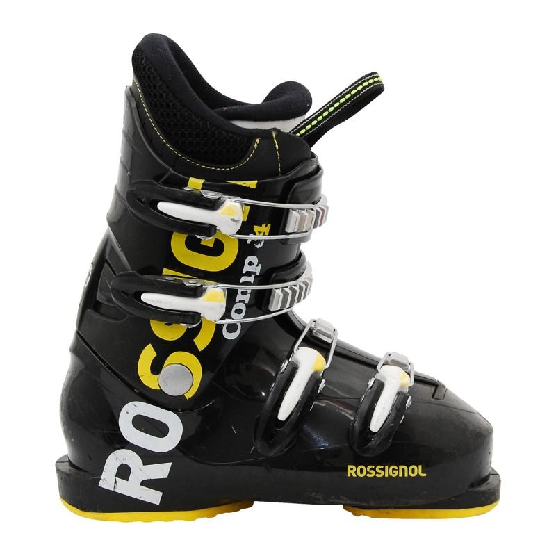 Chaussure de ski occasion junior Rossignol Comp J noir quantité A