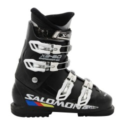 Chaussure de ski occasion junior Salomon X3-60 noir