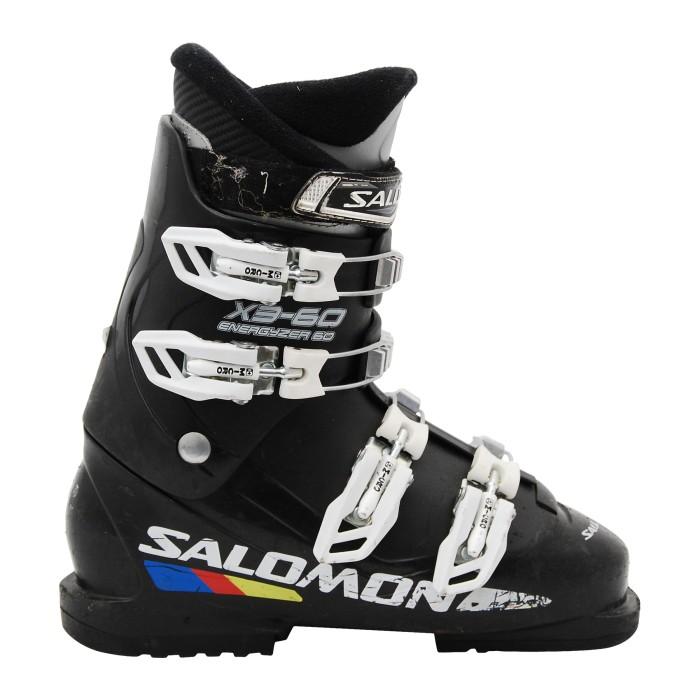 Junior Salomon X3-60 black ski boot