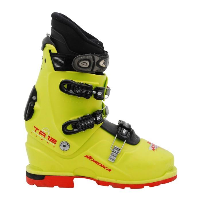 Chaussure de ski randonnée occasion nordica TR 12 light vert