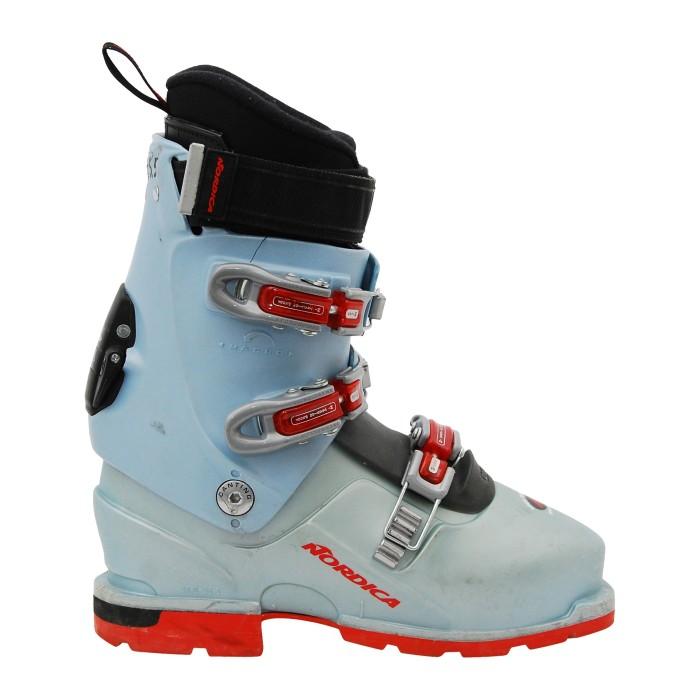 Chaussure de ski randonnée occasion nordica TR 12 w light gris