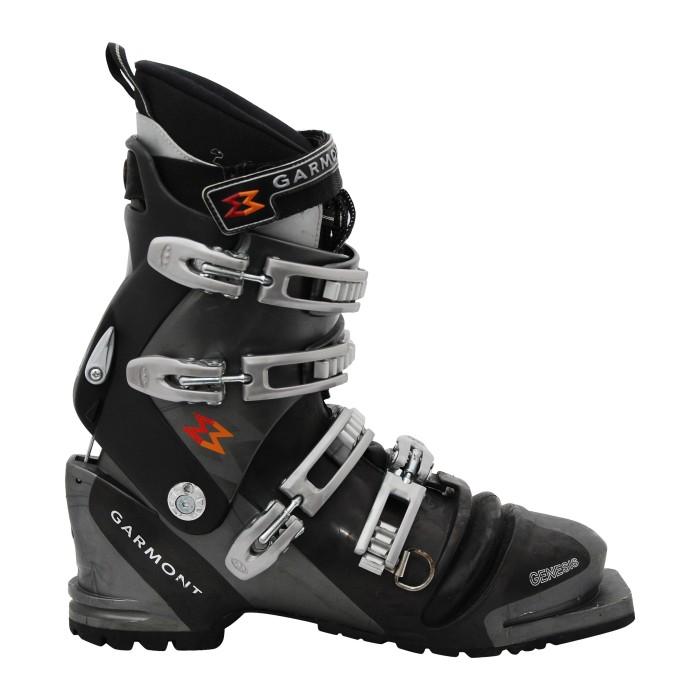 Chaussure de ski telemark occasion Garmont Genesis noir