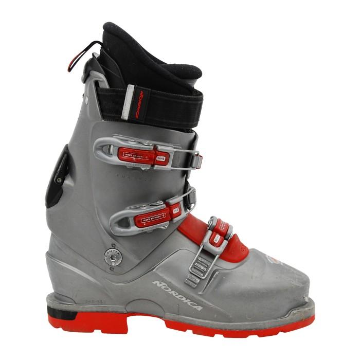 Skiwanderschuhe nordica TR12 grau/rot
