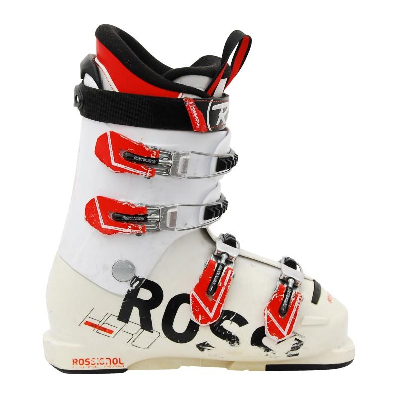 Chaussure de ski occasion junior Rossignol Hero Racing Team JR 65 qualité A