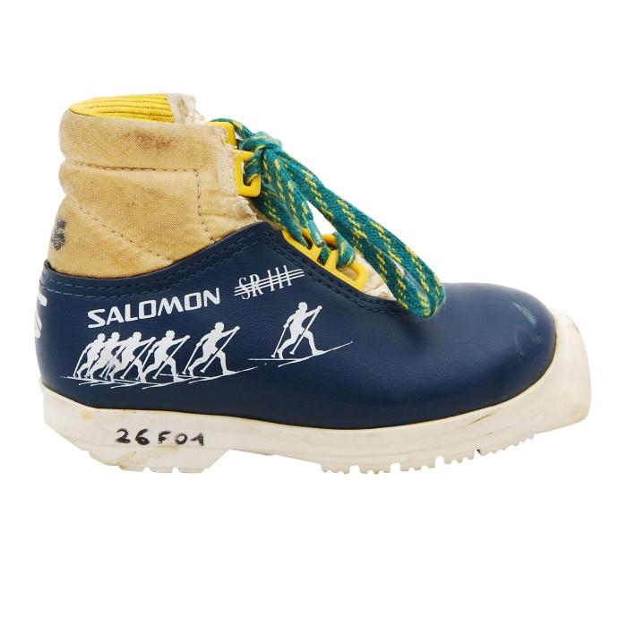 Salomon SR111 Junior classic blau Langlaufschuh
