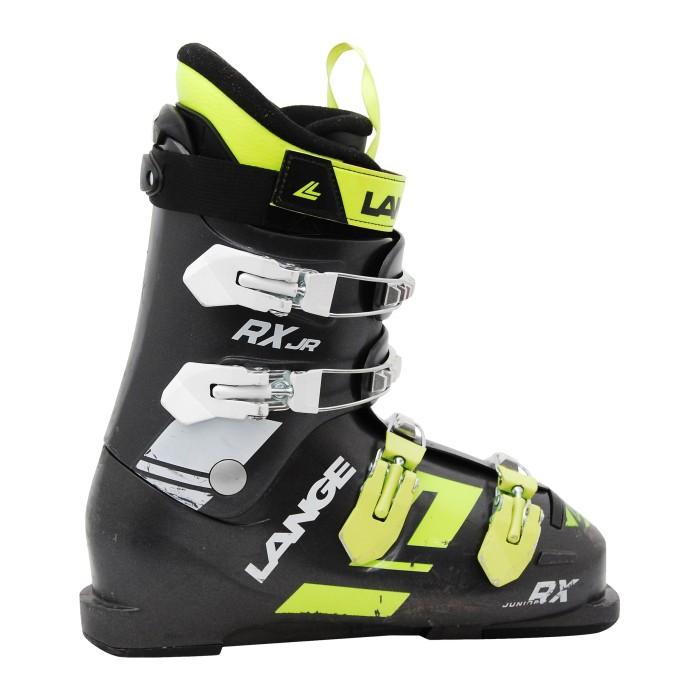 Skischuh Junior Lange RX JR schwarz gelb